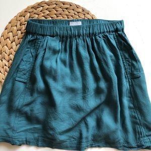 COOPERATIVE | Urban Outfitters Teal Mini Skirt S